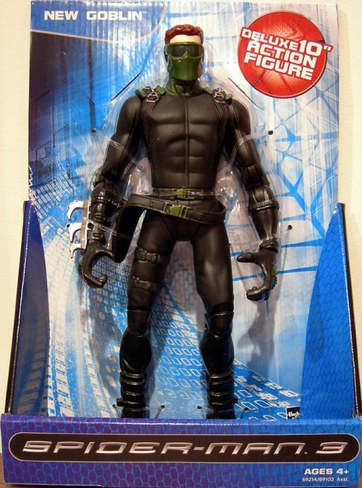 New Goblin Deluxe 10 Inch Action Figure Spider-Man 3