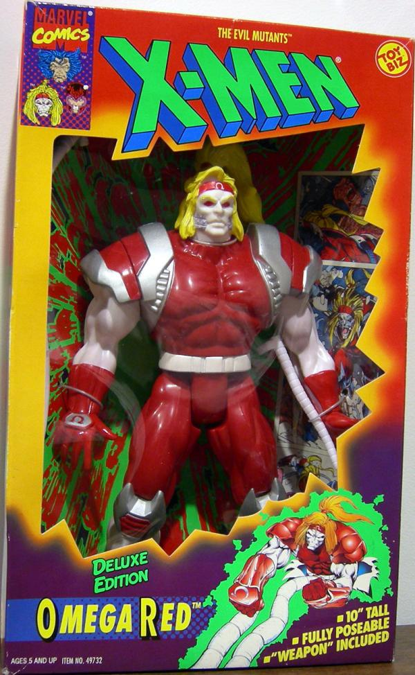 Omega Red X-Men Deluxe Edition action figure