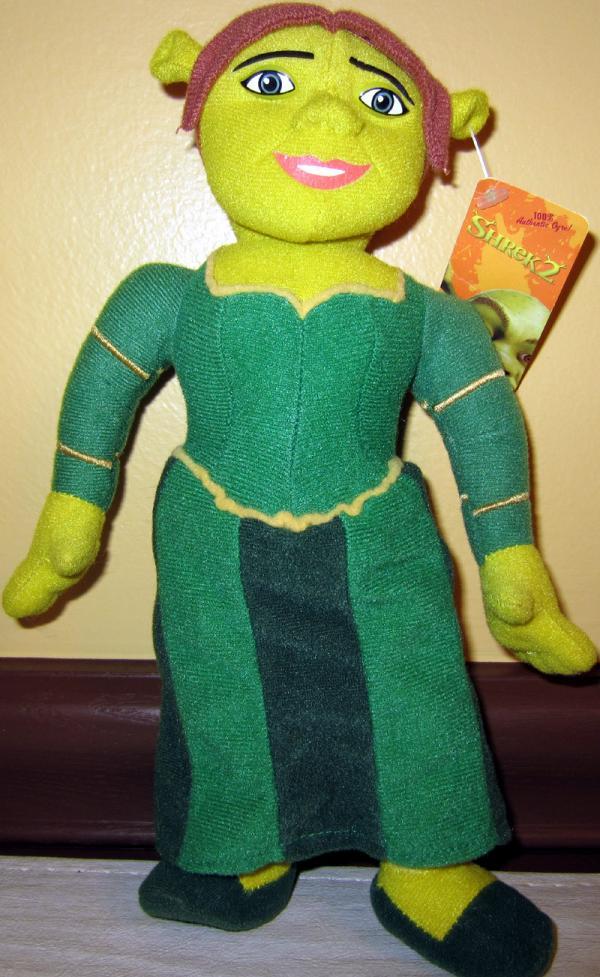 10 inch Princess Fiona Ogre plush