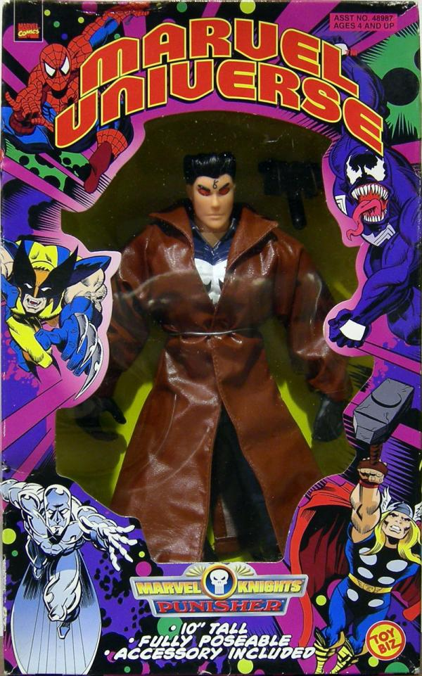 10 inch Punisher Marvel Universe Knights action figure