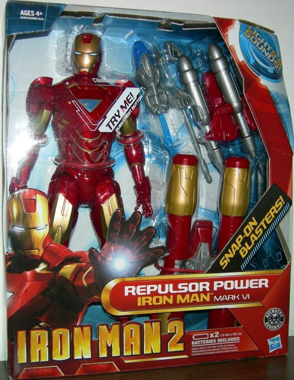 10 inch Repulsor Power Iron Man Mark VI