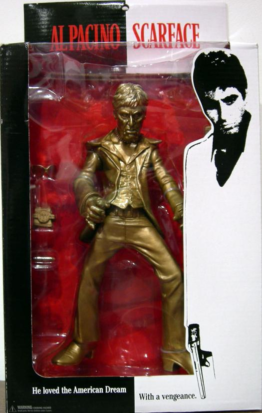 Scarface Player Gold Repaint action figure