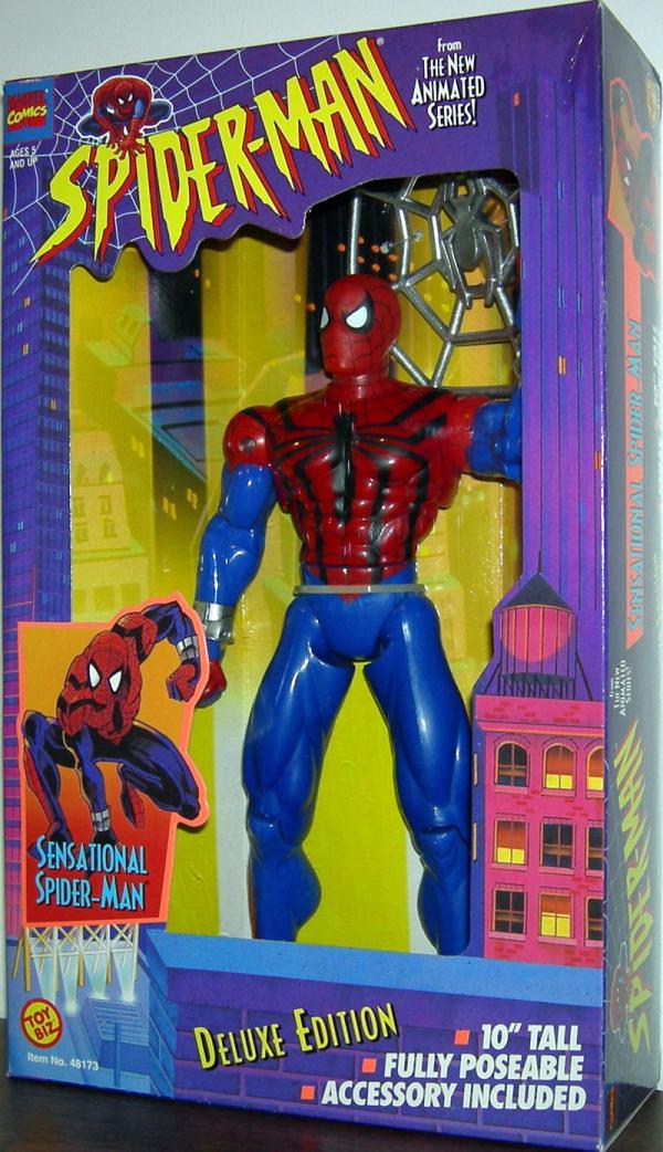10 inch Sensational Spider-Man Animated action figure