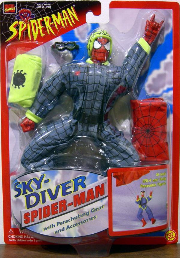10 inch Sky-Diver Spider-Man action figure