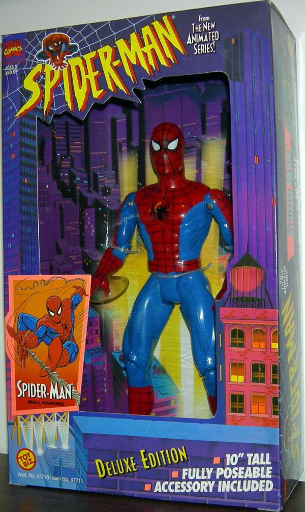 10 inch Spider-Man Wall Hanging Animated Action Figure