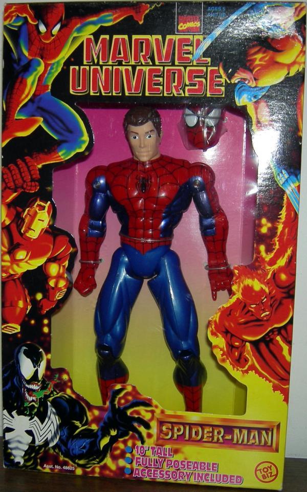 10 inch Spider-Man (Unmasked, Marvel Universe)
