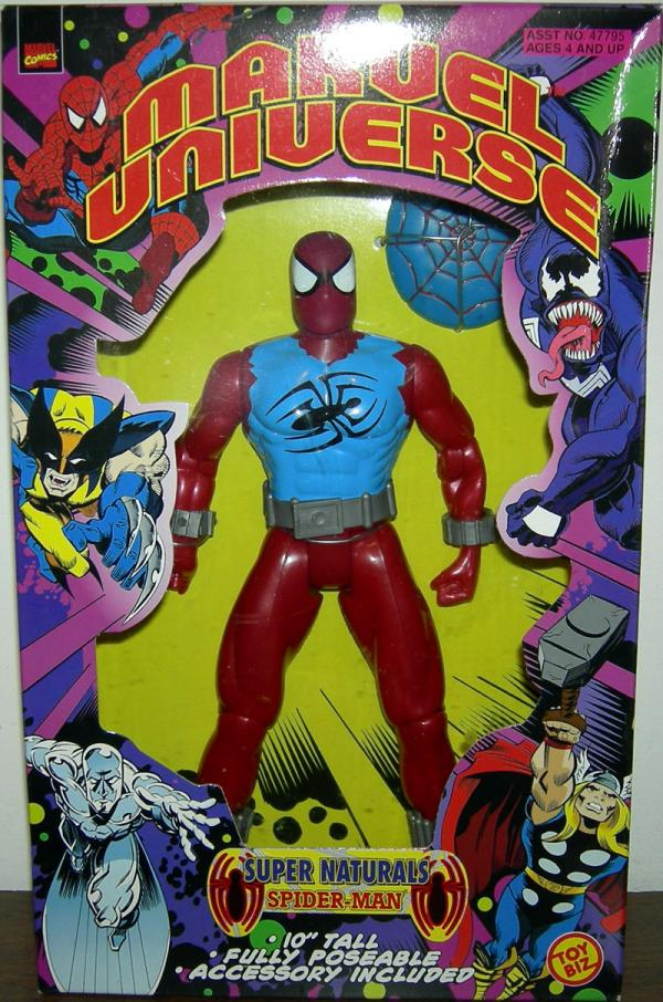 10 inch Spider-Man (Marvel Universe Super Naturals, Scarlet-Spider)