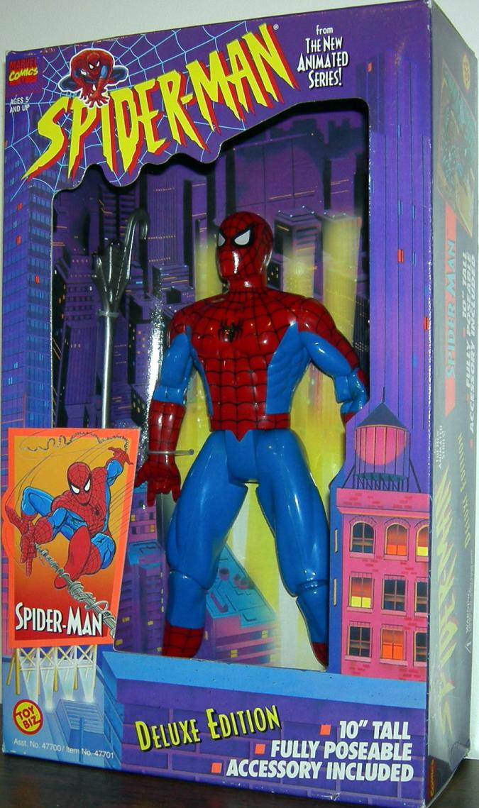 10 inch Spider-Man (Animated, Web Hanging)
