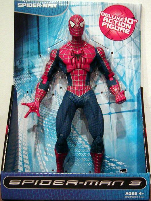 Spider-Man 3 Deluxe Figure 10 Inch Movie Hasbro