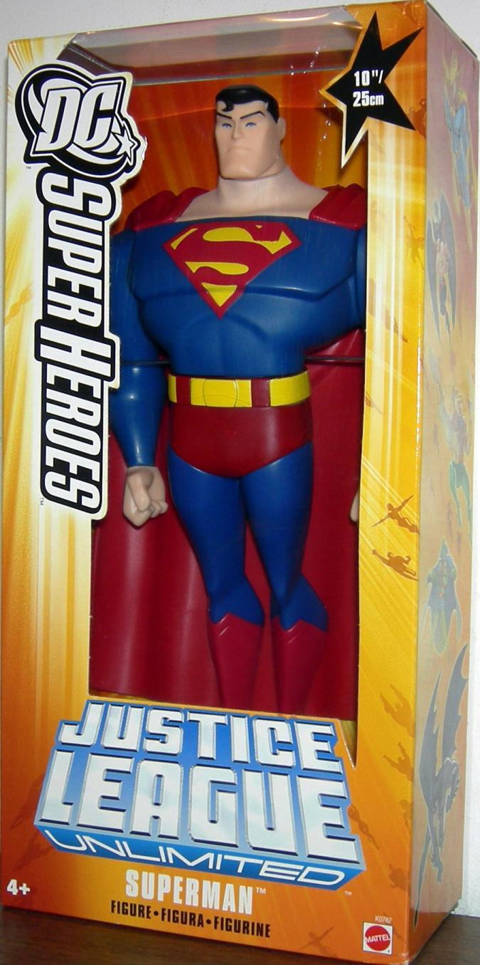 10 inch Superman, yellow box
