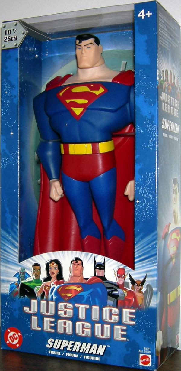 Superman Figure Justice League 10 Inch