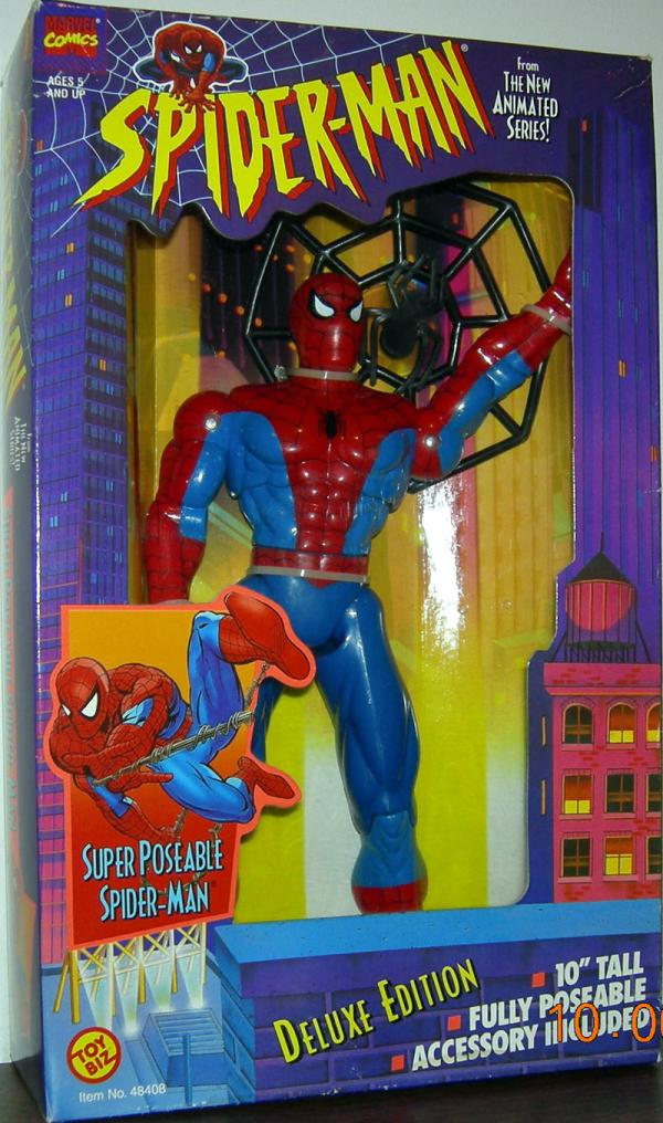 10 Inch Super Poseable Spider-Man Boxed Action Figure