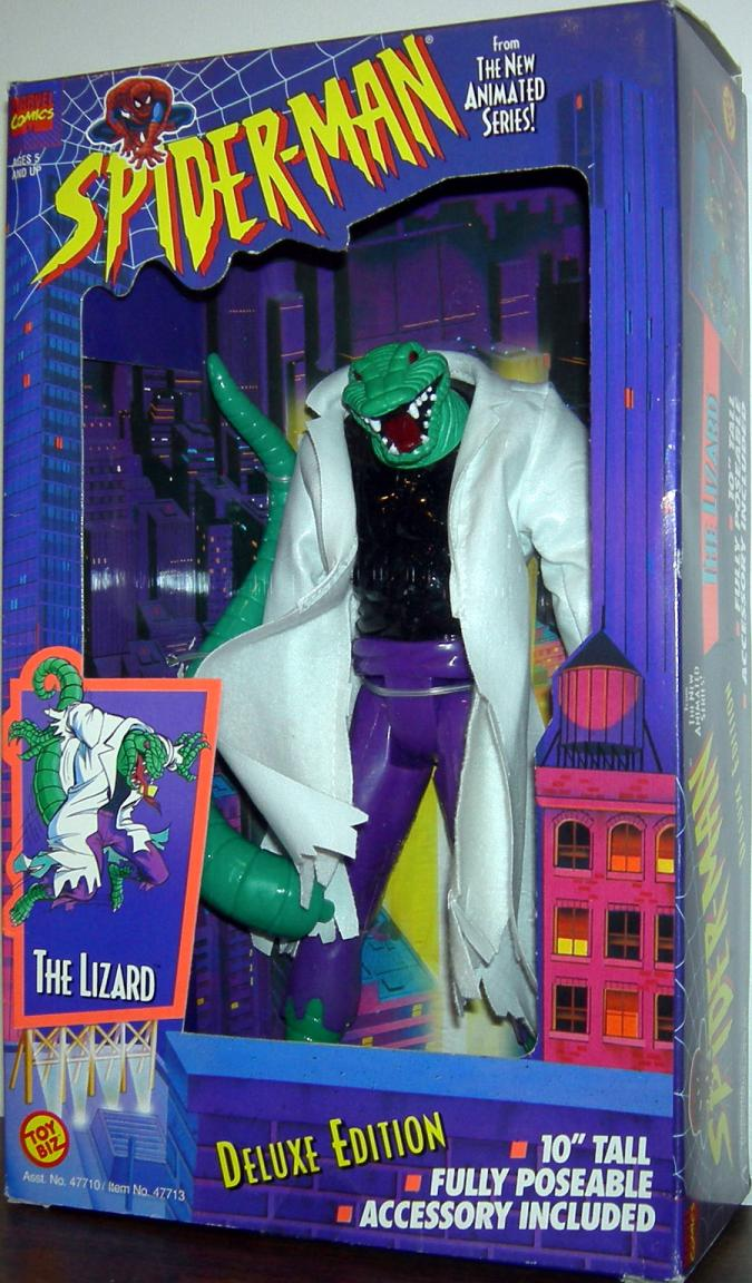 10 inch Lizard Spider-Man Animated action figure