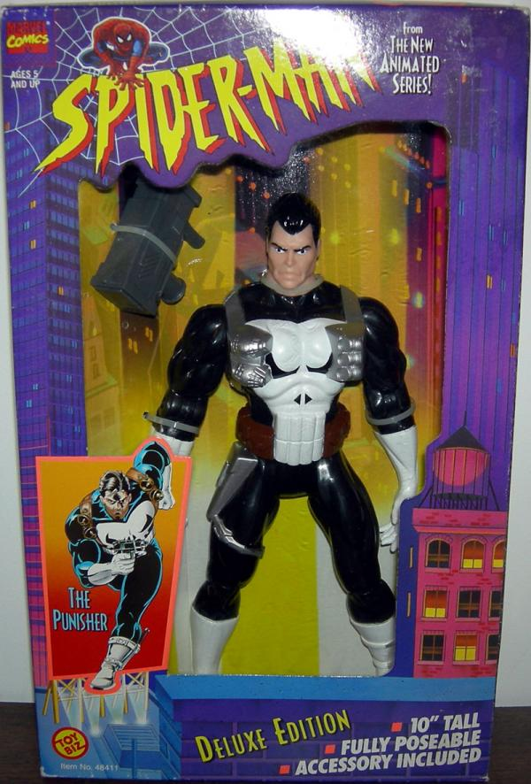 Punisher Spider-Man Animated Series action figure