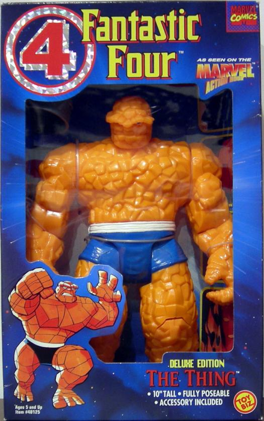 Thing Figure Deluxe Edition 10 Inch Fantastic Four 4 Toy Biz