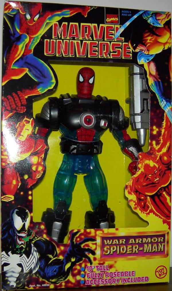 10 inch War Armor Spider-Man (Marvel Universe)