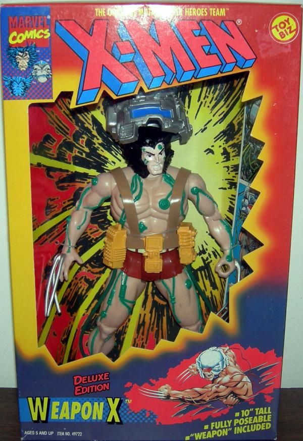 X-Men 10 inch Weapon X Action Figure Toy Biz