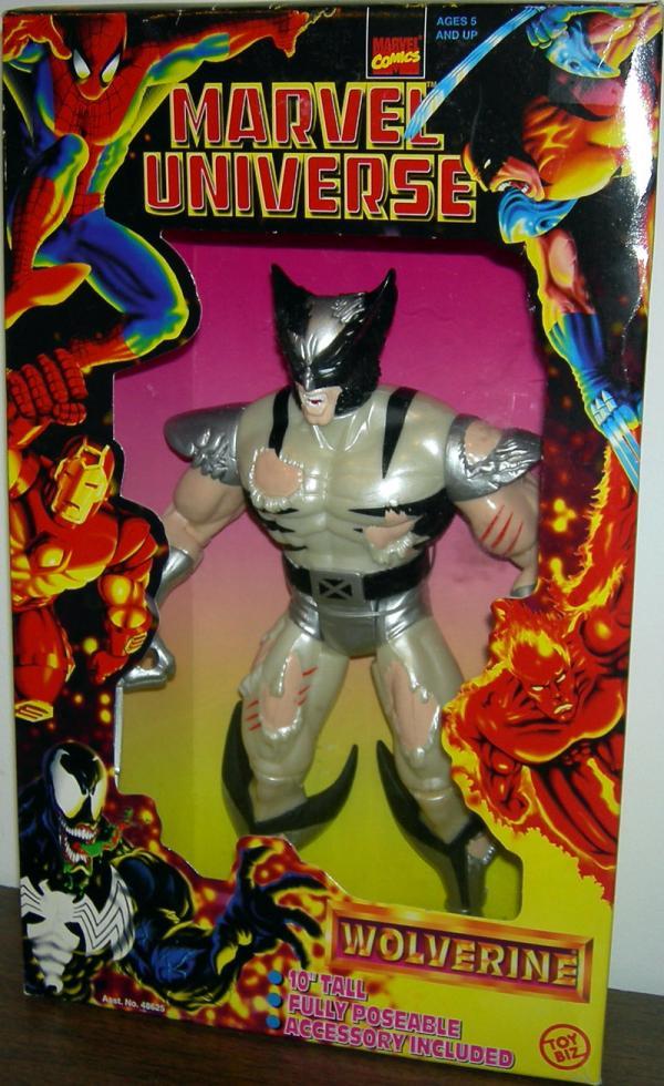 Battle Ravaged Wolverine Figure 10 Inch Marvel Universe