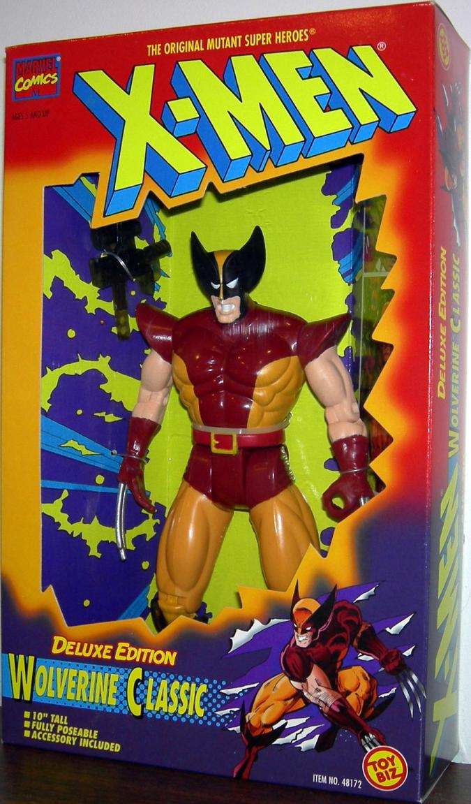 Wolverine Classic 10 Inch Deluxe Edition X-Men action figure