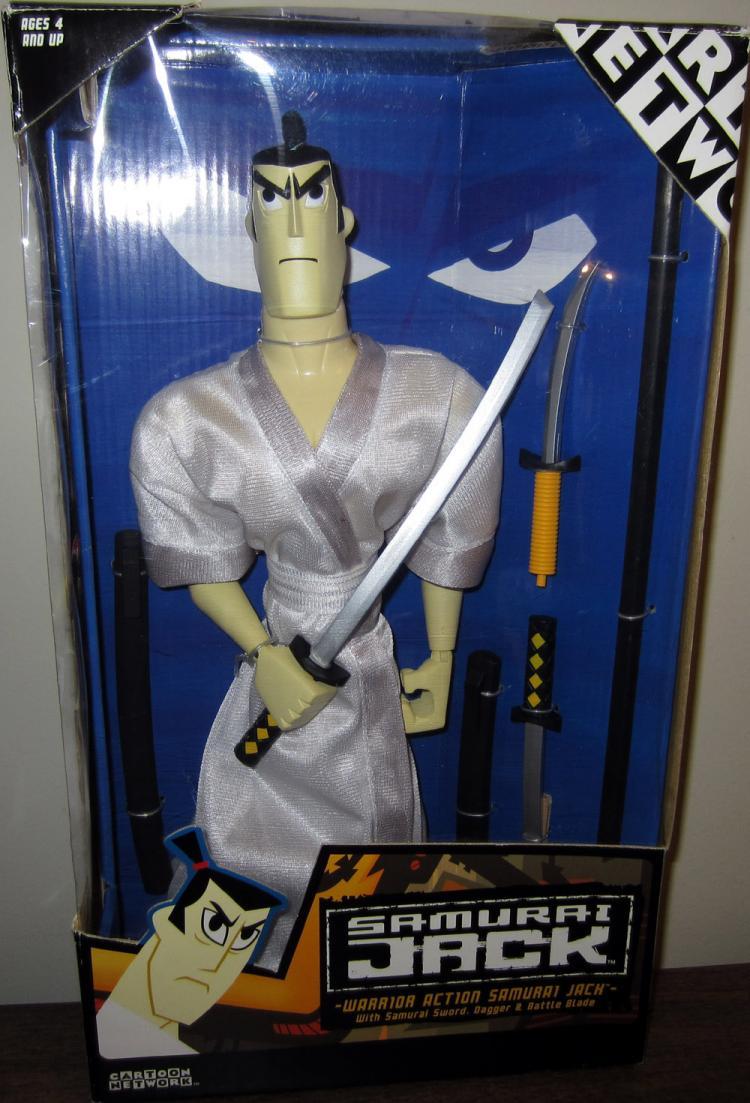 Warrior Action Samurai Jack Figure 12 Inches Tall