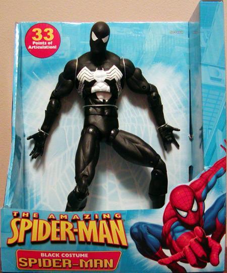 12 inch Black Costume Spider-Man (The Amazing Spider-Man)