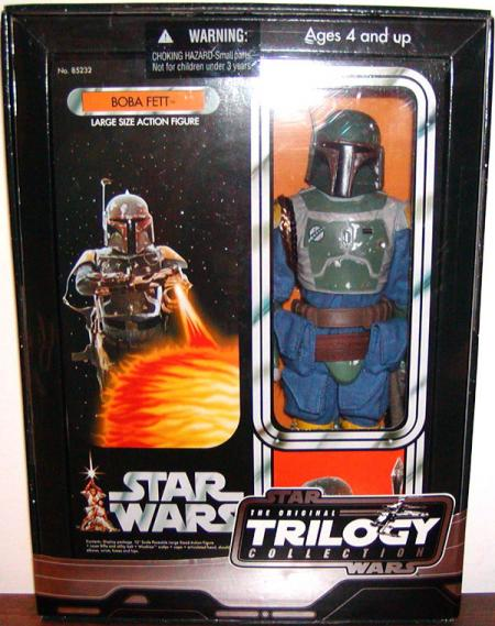 12 inch Boba Fett, Vintage Original Trilogy Collection, blue costume