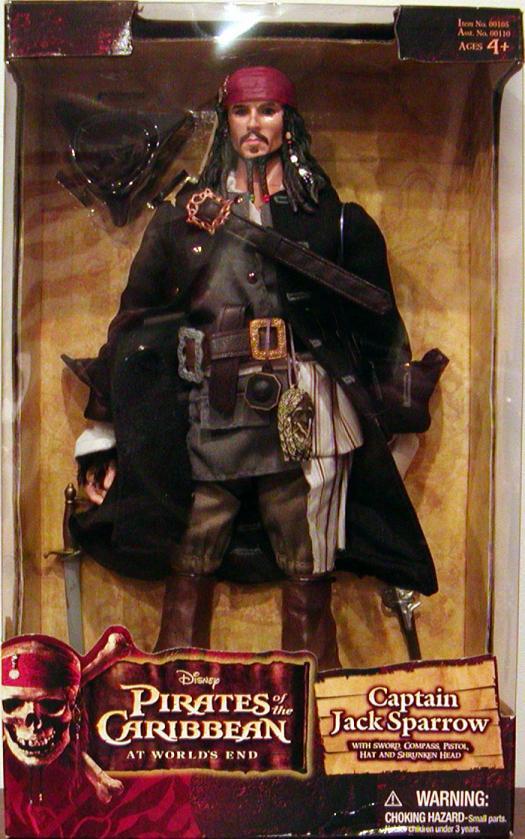 12 inch Captain Jack Sparrow, Worlds End