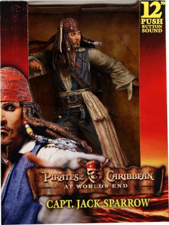 12 inch Captain Jack Sparrow, Worlds End, sound