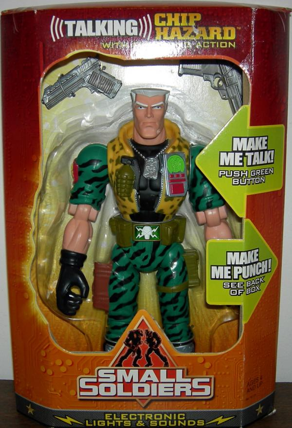 Chip Hazard Talking Figure 12 Inch Small Soldiers Kenner