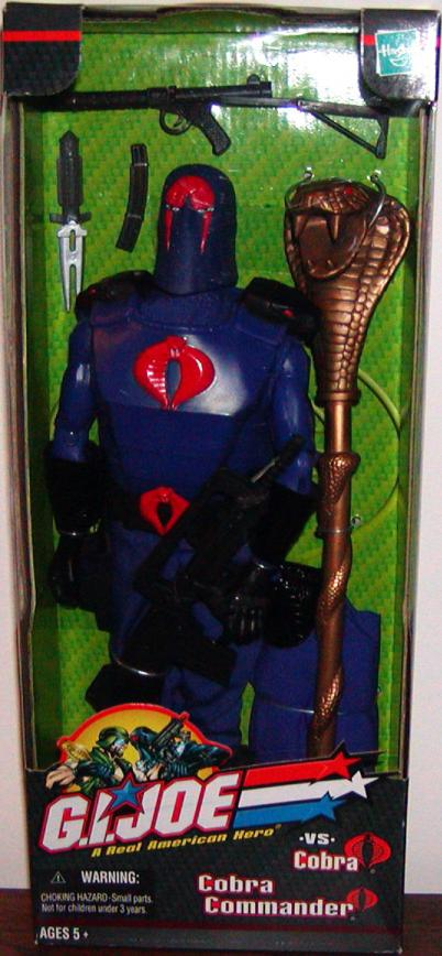 12 inch Cobra Commander, boxed