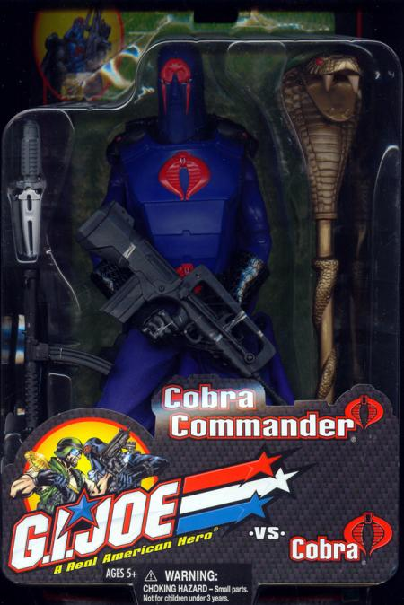 12 inch Cobra Commander, carded