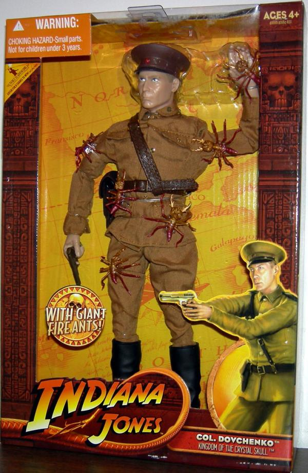 Col Dovchenko Figure 12 Inch Indiana Jones Kingdom Crystal Skull