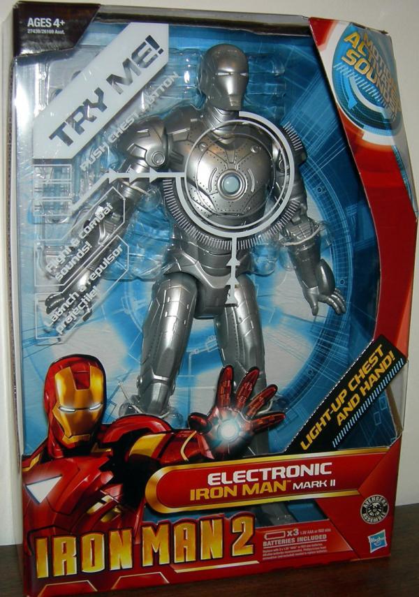 12 inch Electronic Iron Man 2 Mark II Action Figure