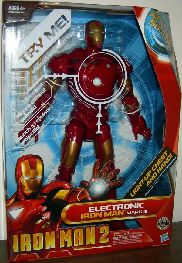 12 inch Electronic Iron Man 2 Mark III