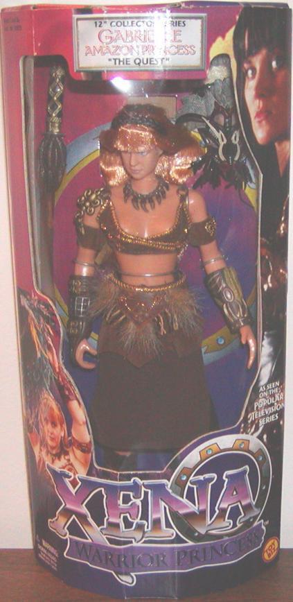 Gabrielle Amazon Princess Figure 12 Inch Collector Series Xena Quest