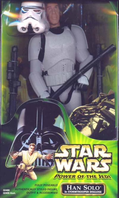 12 inch Han Solo Stormtrooper Disguise Star Wars action figure