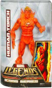 12 inch Human Torch, Marvel Legends Icons