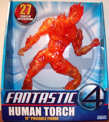 12 Inch Human Torch Fantastic 4 Movie action figure