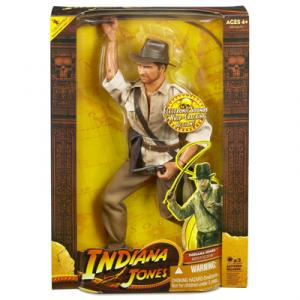 12 inch Indiana Jones electronic sounds whip cracking action