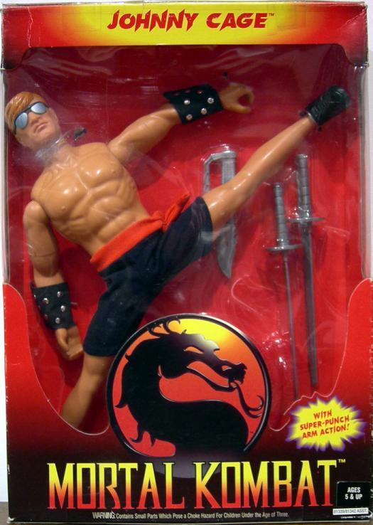 Johnny Cage Figure 12 Inch Mortal Kombat Hasbro