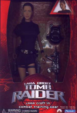 12 inch Lara Croft Combat Training Gear Movie action figure doll