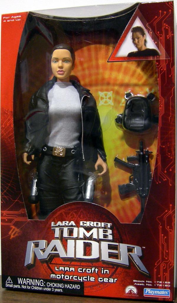 12 inch Lara Croft Motorcycle Gear, movie