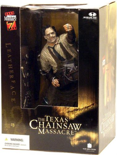 Leatherface Figure 12 Inch Movie Maniacs McFarlane Toys