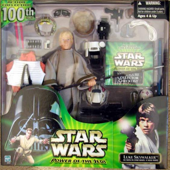 12 inch Luke Skywalker, 100th