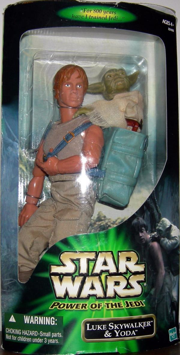 12 inch Luke Skywalker Yoda