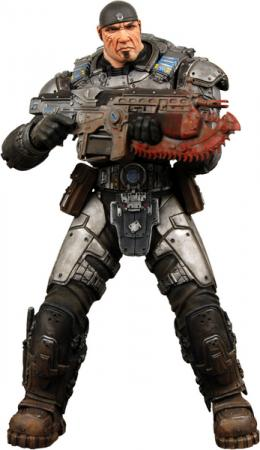 12 inch Marcus Fenix Gears War action figure