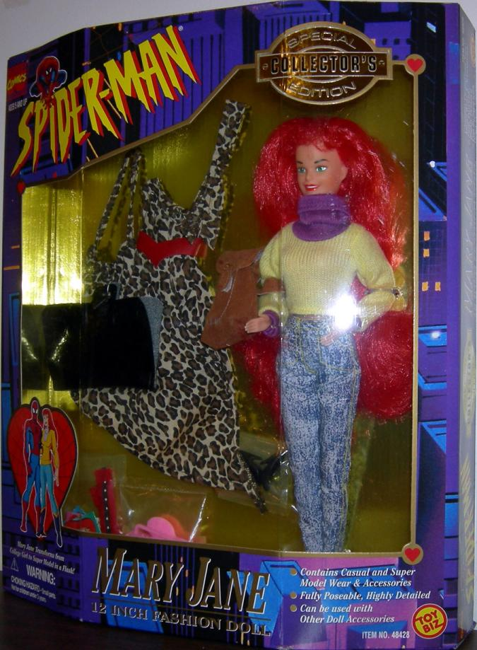 Mary Jane 12 Inch Fashion Doll Action Figure Spider-Man