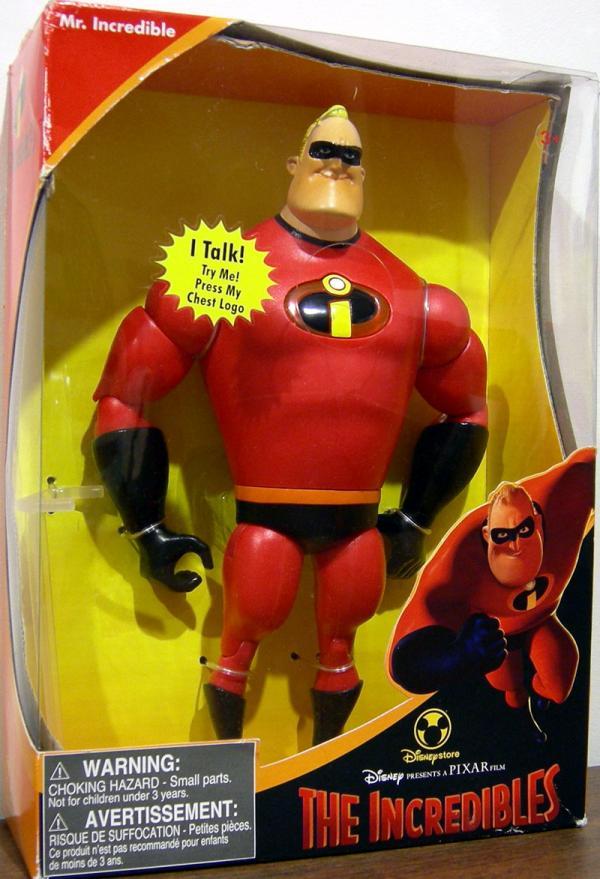 12 inch Mr Incredible, talking