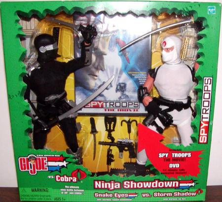 12 inch Ninja Showdown, Snake Eyes vs Storm Shadow