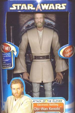 12 inch Obi-Wan Kenobi, electronic